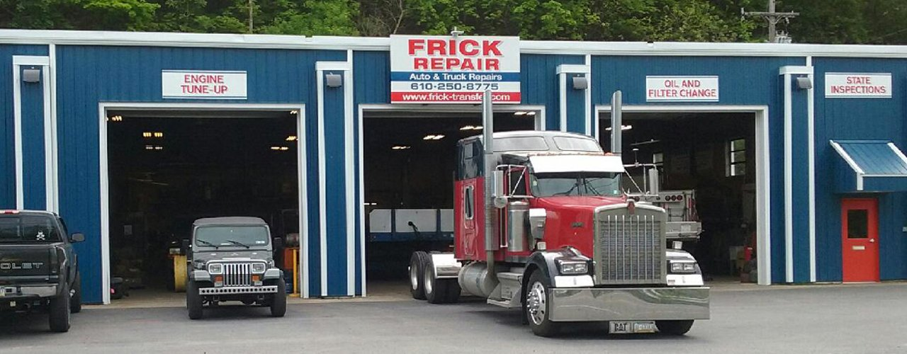 Frick Repair Shop in Easton PA
